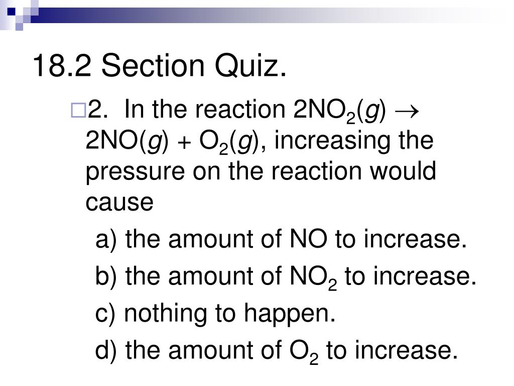 PPT - Chapter 18: Reaction Rates and Equilibrium ...