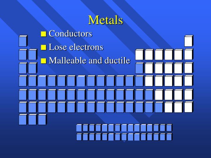 Metals
