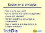 design for all principles