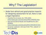 why the legislation