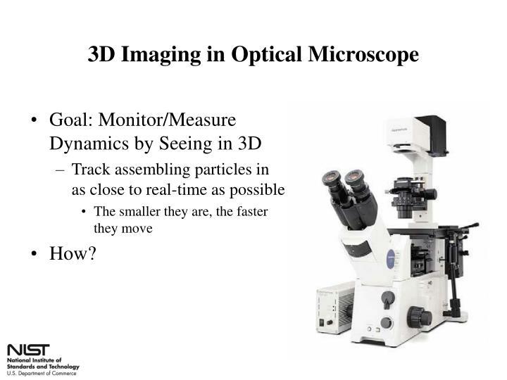 3D Imaging in Optical Microscope