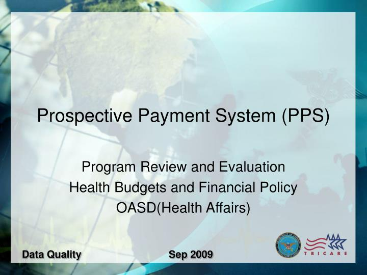 prospective payment system pps n.