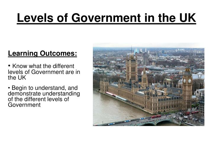 levels of government in the uk n.