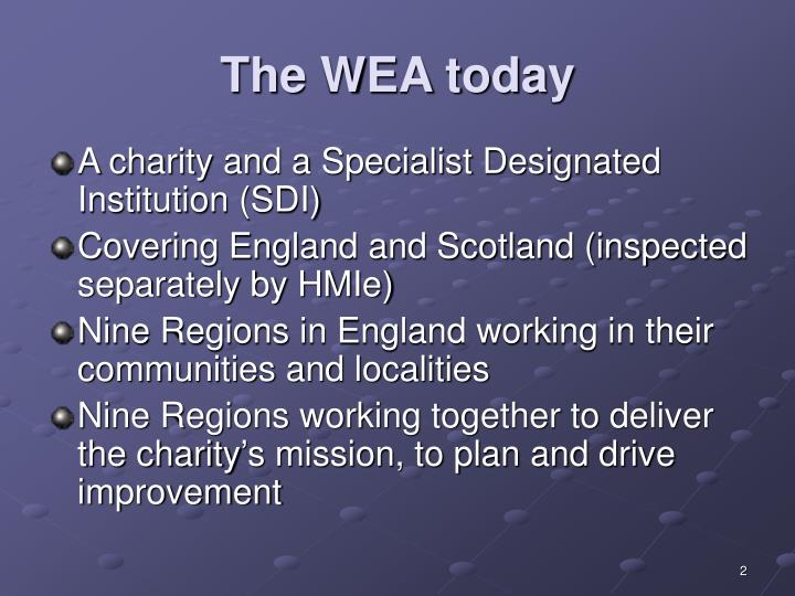 The wea today