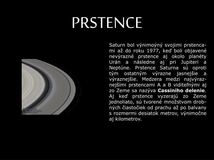 PRSTENCE