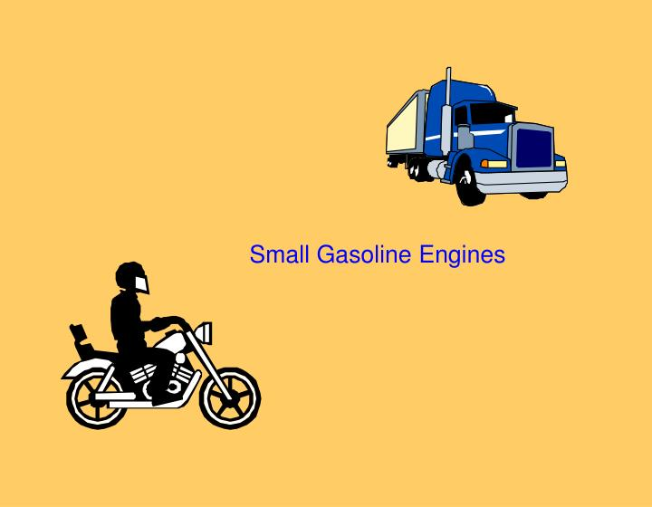 small gasoline engines n.