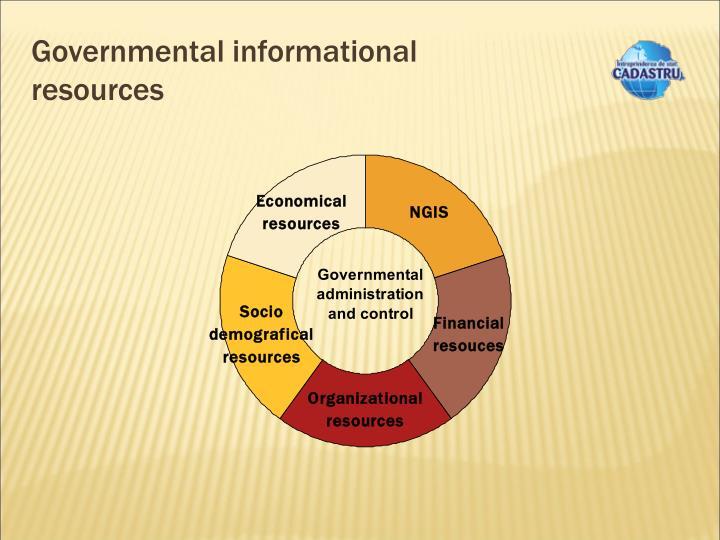 Governmental informational