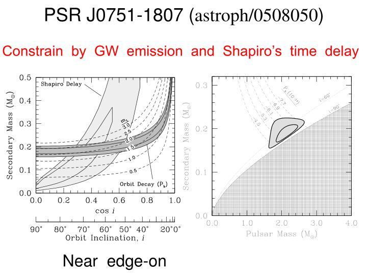 PSR J0751-1807 (