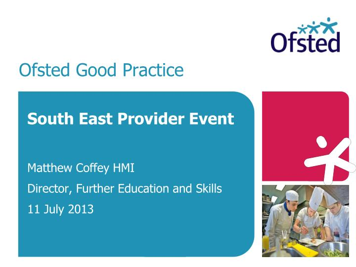 ofsted good practice n.