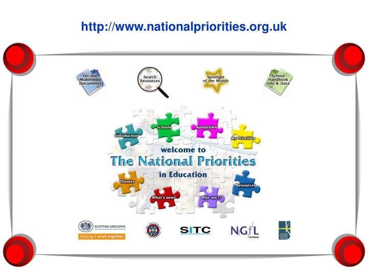 http://www.nationalpriorities.org.uk