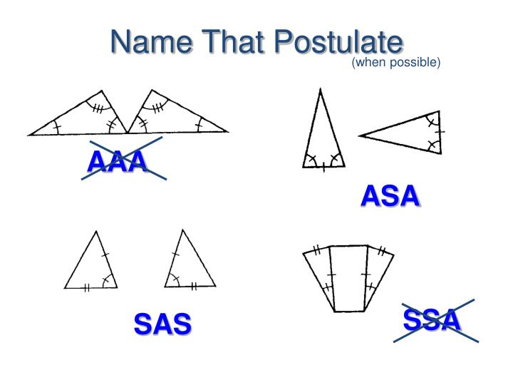 Name That Postulate