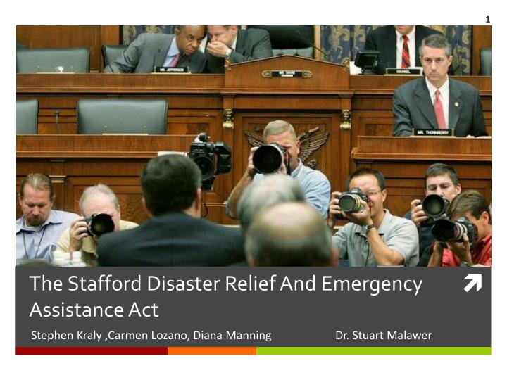 the stafford disaster relief and emergency assistance act n.