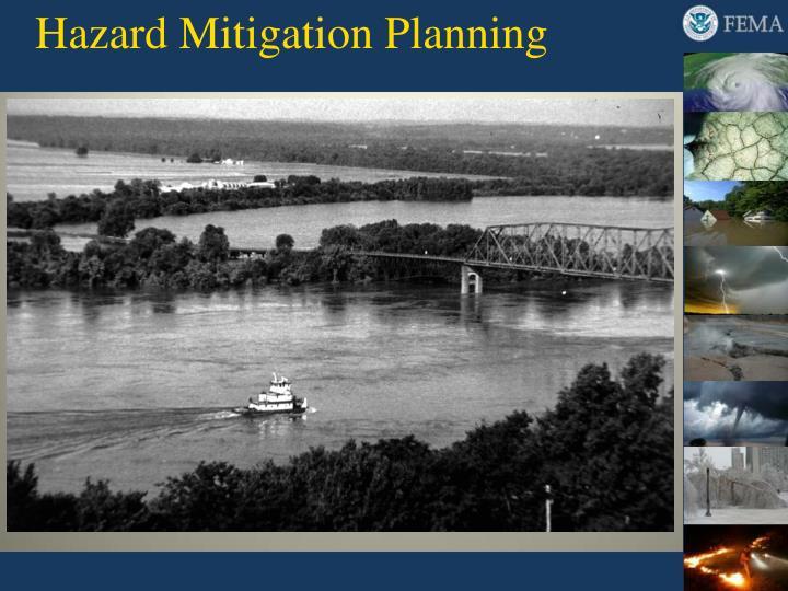 hazard mitigation planning n.