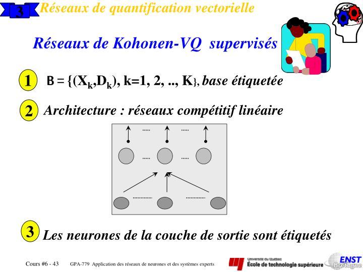 Réseaux de quantification vectorielle