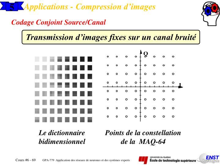 Applications - Compression d'images