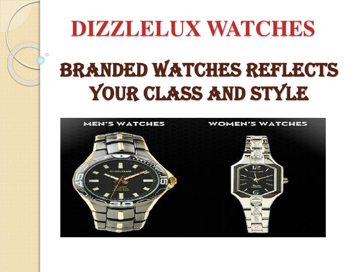 branded watches reflects your class and style n.