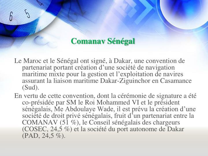 Comanav Sénégal