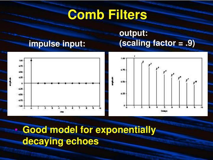 Comb filters1