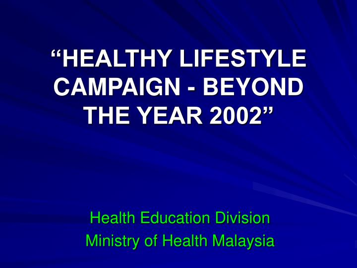 health education campaigns Module 2: social media as an educational tool to promote health mass media campaigns are used to expose high proportions of a population to health promotion messages, using the media as an educational tool.