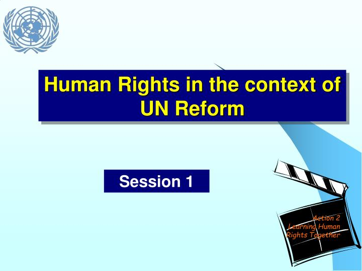human rights in the context of un reform n.