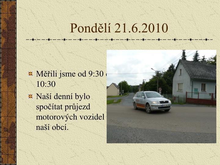 Pond l 21 6 2010