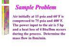sample problem1