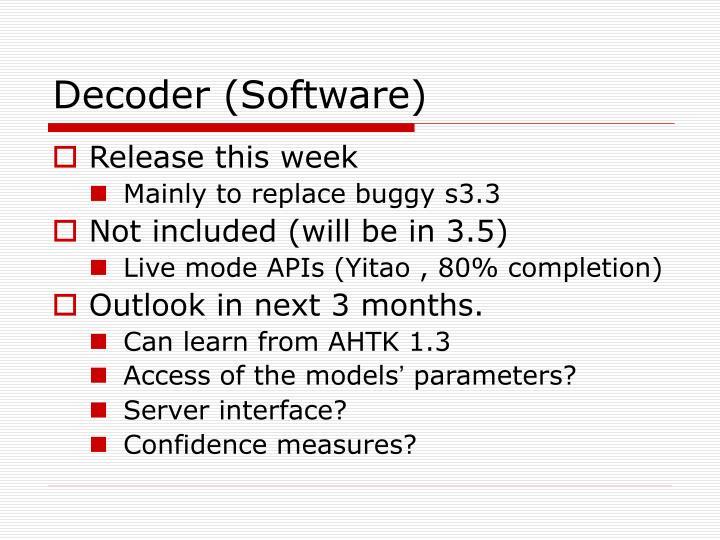 Decoder (Software)