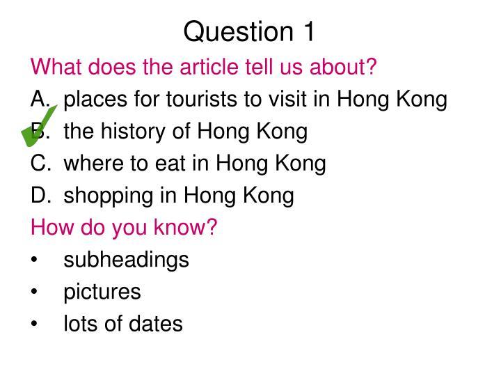 question 1 n.