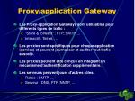 proxy application gateway