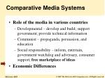 comparative media systems7