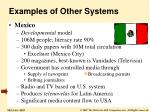 examples of other systems1
