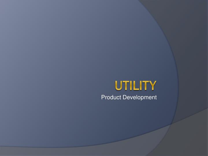 product development n.