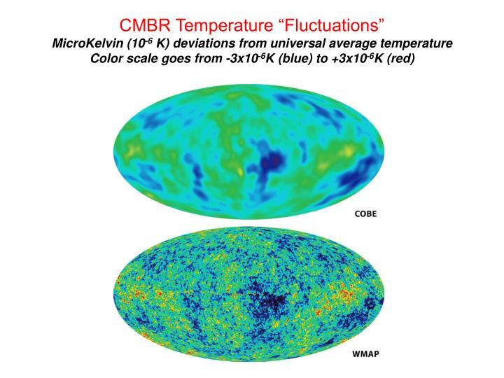 """CMBR Temperature """"Fluctuations"""""""