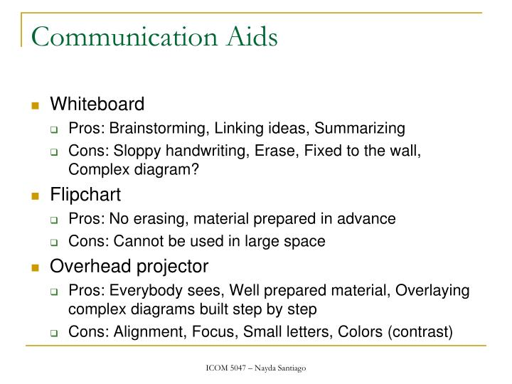 Communication Aids