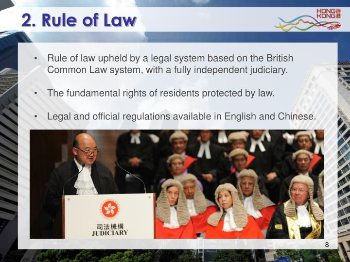 2. Rule of Law