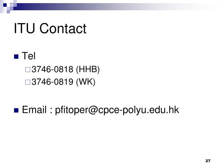 ITU Contact