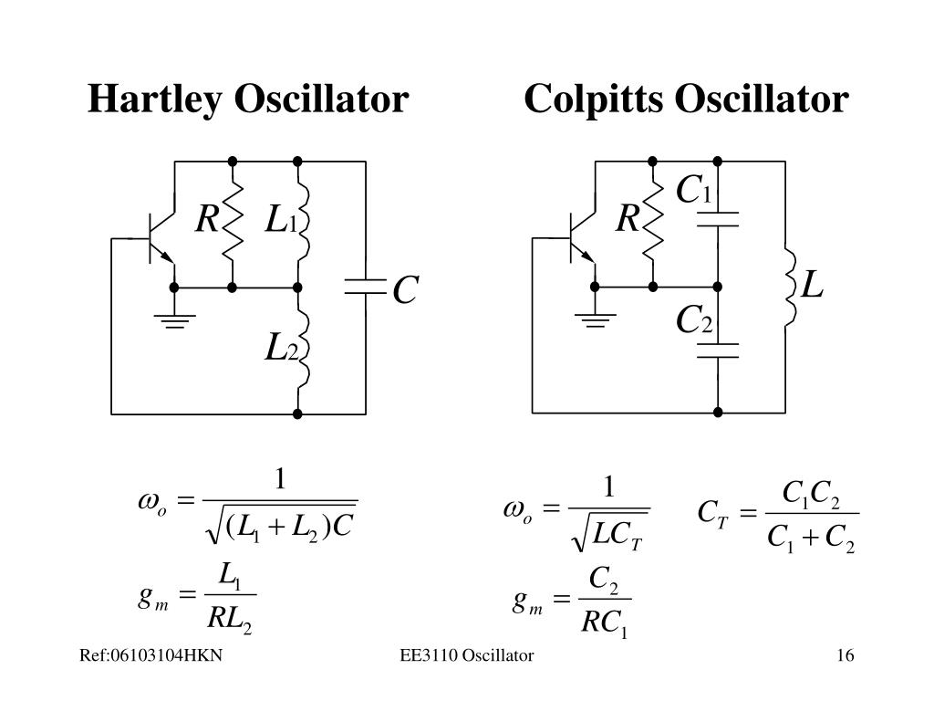 PPT - Lecture 3 Oscillator PowerPoint Presentation - ID:3544027