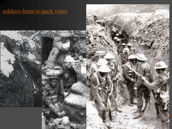 soldiers-learn-to-pack video