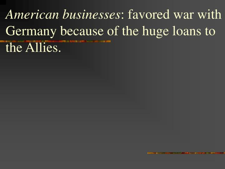 American businesses