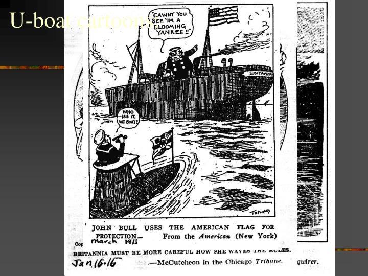 U-boat cartoons: