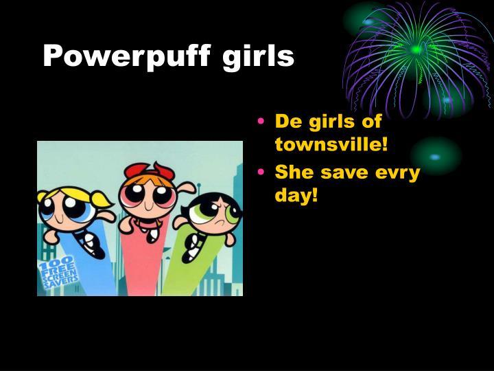 powerpuff girls n.