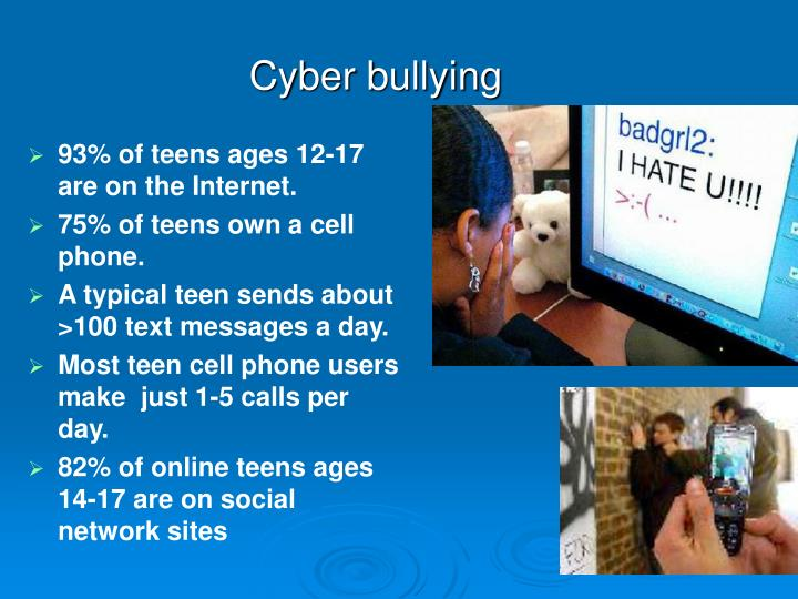 cyberbullying and teens Cyberbullying & digital/internet safety cyber safety: tips for safe surfing, is a full-color, two-page brochure for parents and teens.