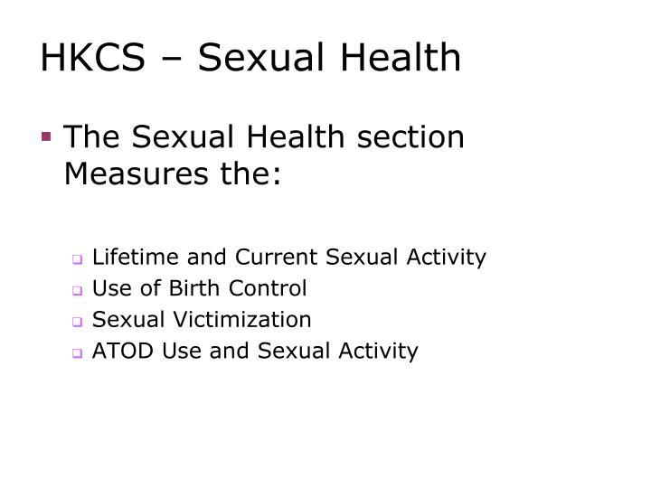 HKCS – Sexual Health