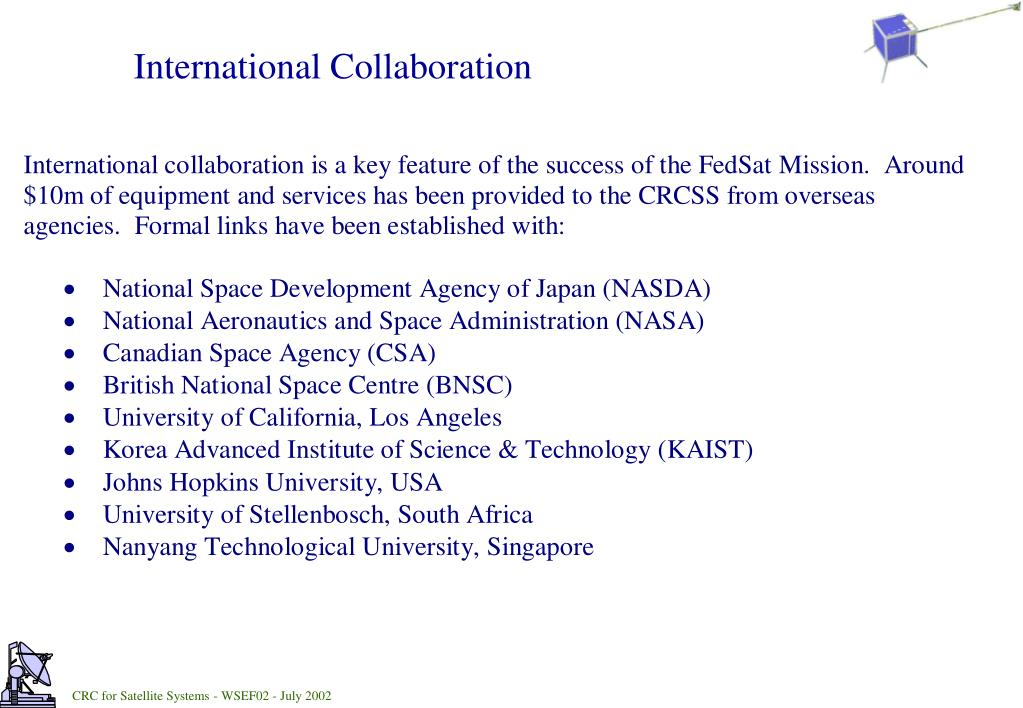 PPT - CRCSS Space Science Research PowerPoint Presentation - ID:3544532