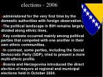 elections 2006