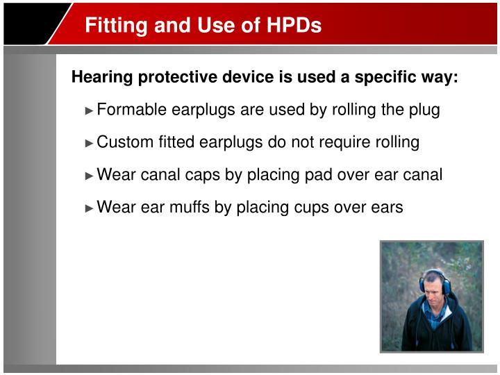 Fitting and Use of HPDs