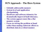 sun approach the hero system1