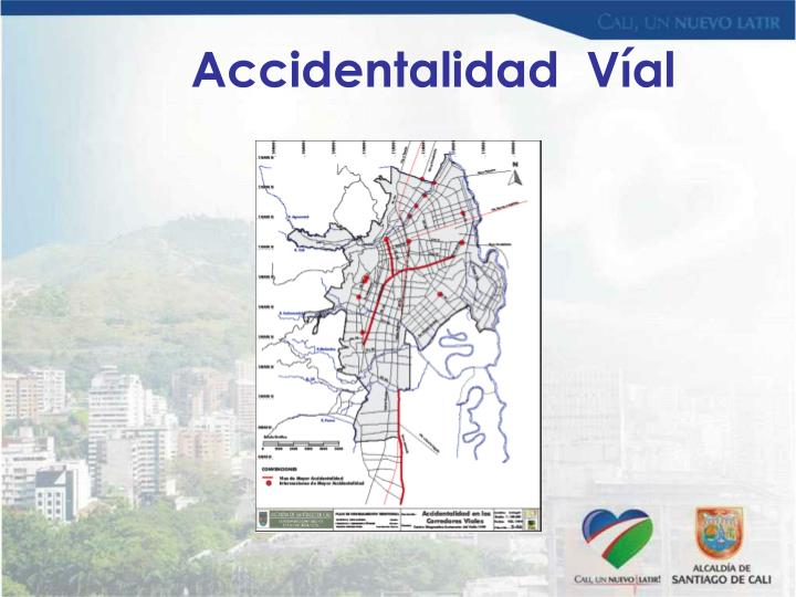 Accidentalidad  Víal