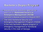 bachelor s degree program