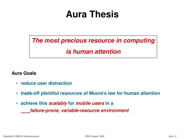 Aura Thesis